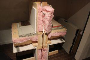 断熱材による床壁の遮音