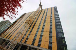 UBCブロックコモンズ(木造18階建)